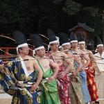 上賀茂神社 武射神事 百手式