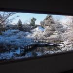 永観堂の雪景色