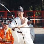 上賀茂神社 武射神事 蟇目の儀