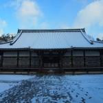 仁和寺 雪の金堂