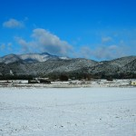 嵯峨野 雪景色