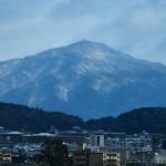 法輪寺からの比叡山