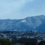 法輪寺からの大文字山