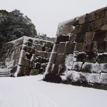 雪の二条城
