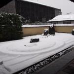 雪の龍源院 1月