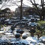 高瀬川源流庭園 1月