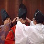 梨木神社 元服式 1月