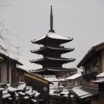 八坂の塔 雪景色
