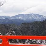 鞍馬山からの比叡山