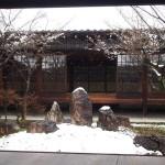 建仁寺の雪