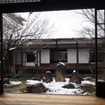 建仁寺の雪景色