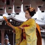 八坂神社 節分祭 舞踊奉納