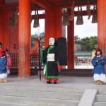 平安神宮の節分祭 大儺の儀