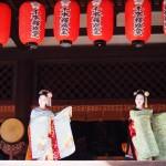千本釈迦堂 舞妓さんの舞踊