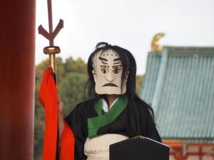 平安神宮の方相氏