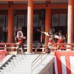 平安神宮 鬼の舞