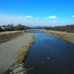 立春 鴨川