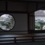 源光庵 雪景色