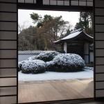 正伝寺の雪景色