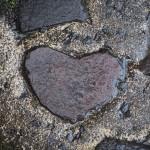 貴船神社 ハート形の石