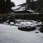 一休寺 雪景色