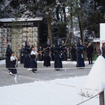 上賀茂神社の紀元祭 剣道