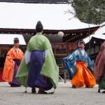 上賀茂神社の紀元祭 蹴鞠