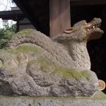 伏見神宝神社 狛龍