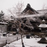 雪の勝林寺