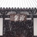 東福寺 雪の禅堂