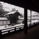 東福寺 雪の方丈庭園 南庭