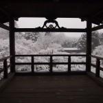東福寺 通天橋からの雪景色