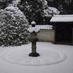 雲龍院の雪景色