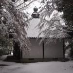 今熊野観音寺の雪景色