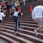 京都駅大階段駆け上がり大会 2月