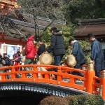 上賀茂神社 幸在祭 2月