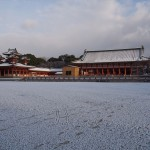 平安神宮 雪景色