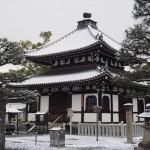 金戒光明寺の雪景色
