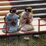 下鴨神社の流し雛