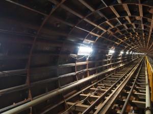 地下貯水トンネル