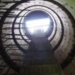地下貯水トンネル 縦穴