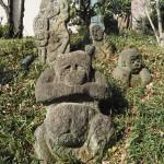 東京 椿山荘にて ※石峰寺内の五百羅漢は撮影禁止