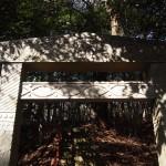 大岩神社 堂本印象寄進の鳥居