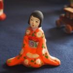 木島桜谷旧邸 夢二人形