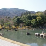 天龍寺 曹源池庭園