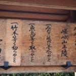 嵯峨天皇陵