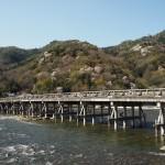 渡月橋 3月