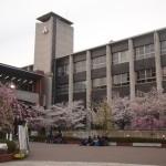 同志社大学 新町校舎 3月30日