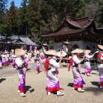 玉津岡神社 おかげ踊り 4月