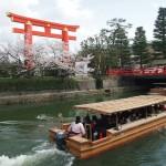 琵琶湖疏水 十石船 4月